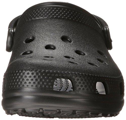 Crocs Classic, Zuecos Unisex Adulto Schwarz (Black)