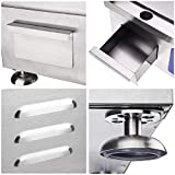"""WeChef Commercial 1500W 14"""" Electric Countertop"""