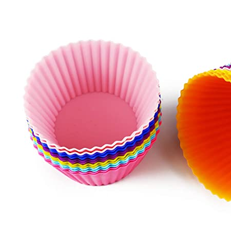 Revestimiento de silicona para cupcakes, reutilizable ...