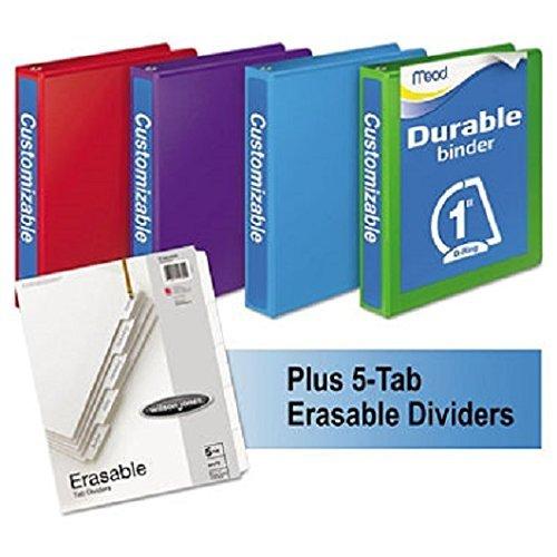 D-Ring View Binders Plus Pack, 1