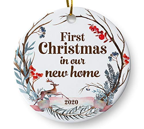 Amazon.com: First Christmas in Our New Home 2020 Christmas