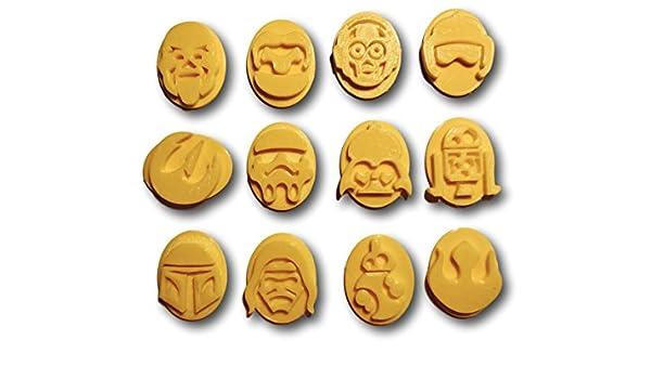 Guerra en el espacio iconos sellos/estampadora: Amazon.es: Hogar