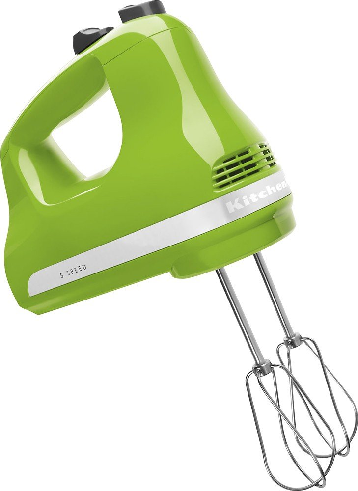 KitchenAid KHM5AP 5-Speed Ultra Power Hand Mixer (Green Apple)