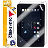 Wikipad 7'' Gaming Tablet Screen Protector [3-Pack], DeltaShield BodyArmor Full Coverage Back + Front Screen Protector for Wikipad 7'' Gaming Tablet Military-Grade Clear HD Anti-Bubble Film