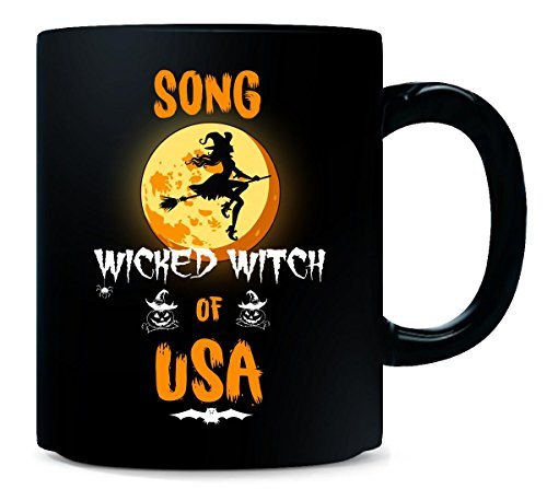 Song Wicked Witch Of Usa. Halloween Gift - Mug -
