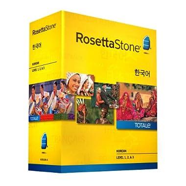 Learn Korean: Rosetta Stone Korean - Level 1-3 Set