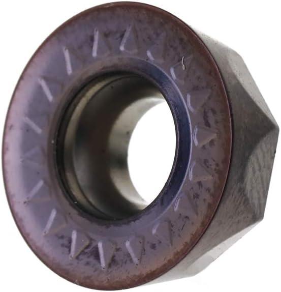 Hartmetalleinsatz F/ür Planfr/äser CNC Drehwerkzeug HRC52 H/ärte Stahl Arbeitsmaterial Fr/äsmaschine Hartmetalleinsatz,Baugger