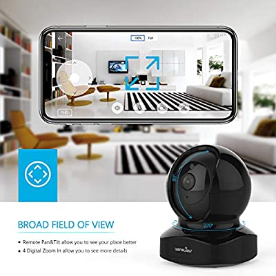 IP Camera, Wireless Security Camera 1080P HD Wansview, WiFi Home