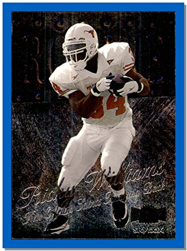 (1999 Metal Universe #209 Ricky Williams RC Rookie NEW ORLEANS SAINTS TEXAS LONGHORNS)
