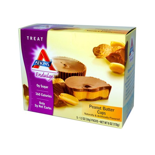 W2B - Atkins Endulge Peanut Butter Cups - 5 Packs