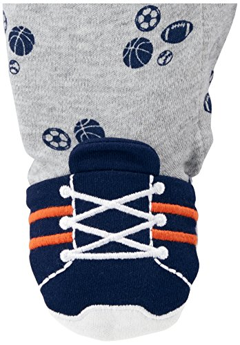 Large Product Image of Simple Joys by Carter's Baby Boys' 2-Pack Cotton Footed Sleep and Play