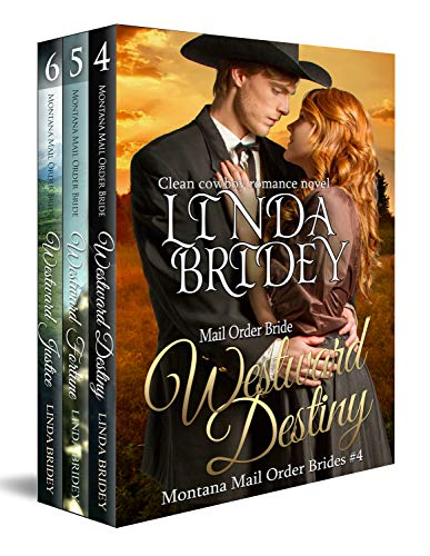 Free - Montana Mail Order Bride Box Set (Westward Series) - Books 4 - 6