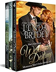 Montana Mail Order Bride Box Set (Westward Series) - Books 4 - 6: Historical Cowboy Western Mail Order Bride B
