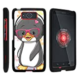 Motorola Droid Maxx Case XT1080 | Droid Ultra Case XT1080M [Slim Duo] Hard Shell Snap On Case Compact Fitted Protector Matte on Black Sea Ocean Design by TurtleArmor - Cute Penguin