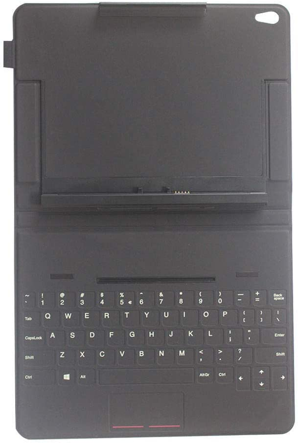 MAXROB Replacement Keyboard for Lenovo ThinkPad 10 Tablet Touch Keyboard Leather Case US 03X9068