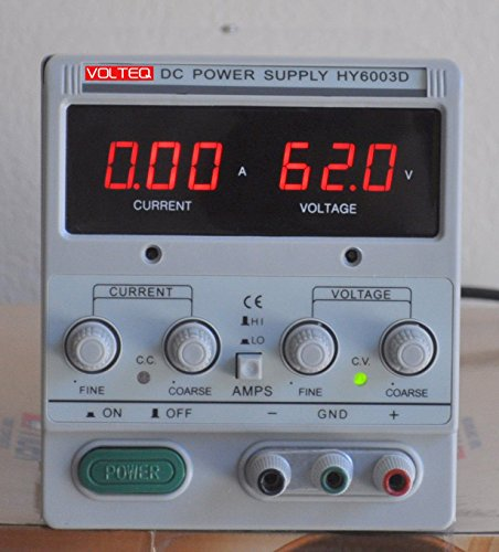 Volteq Regulated Variable Linear DC Power Supply HY6003D 60V 3A