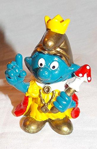 (1978 Vintage Smurf Emperor 2.25