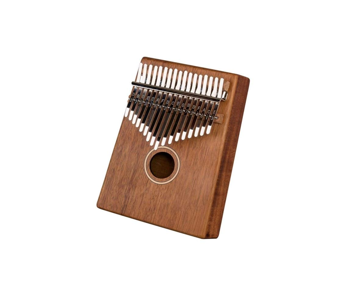 Youshangshipin Kalimba, 17-tone finger piano instrument, thumb piano, veneer blue adult professional playing beginner musical instrument Classical style (Color : 3)