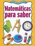 Matematicas para Saber, Mary C. Cavanagh, 0669539597