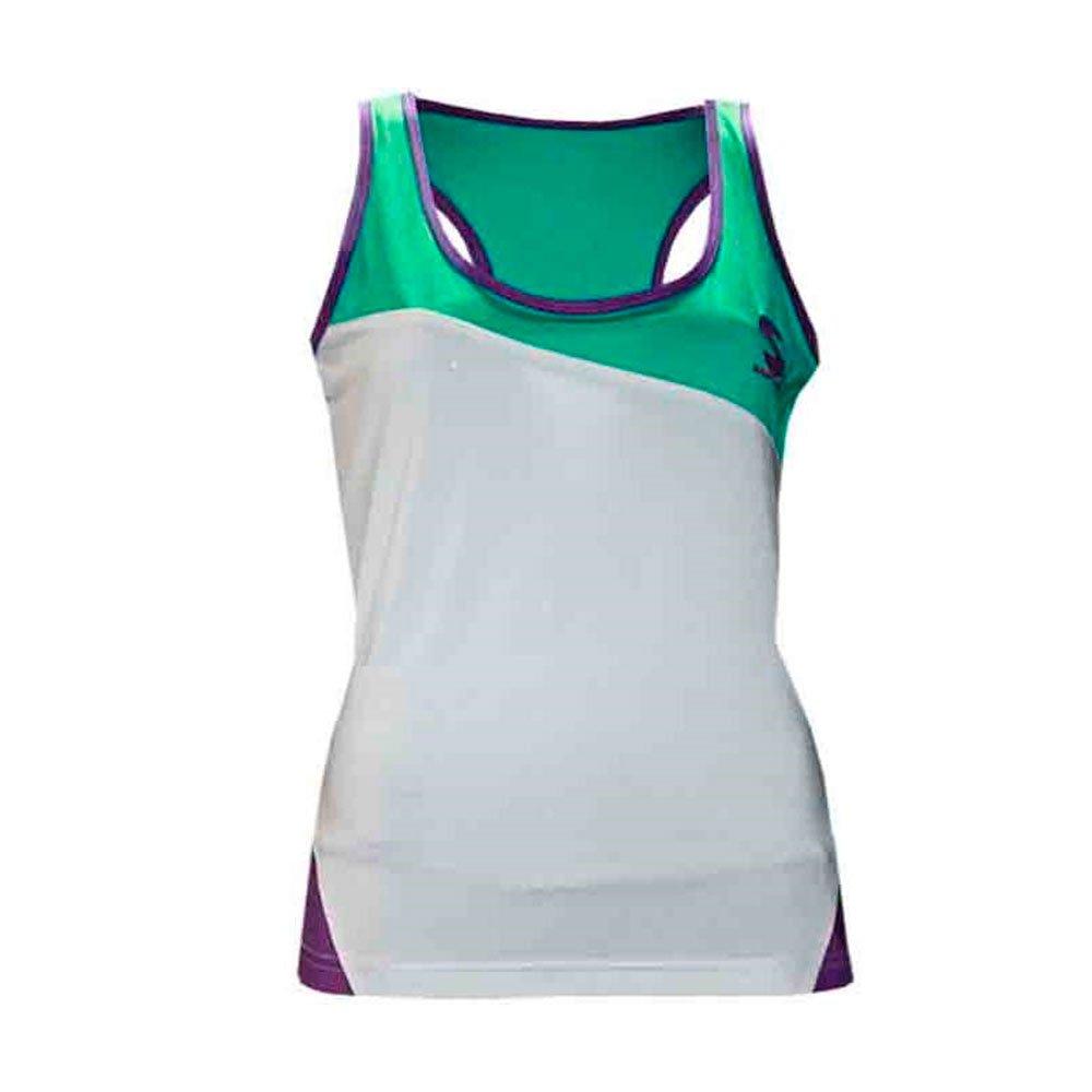 Softee - Camiseta Tirantes Hydra Mujer Color Blanco/Celeste ...