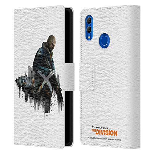 Official Tom Clancy's The Division Rikers Factions Leather Book Wallet Case Cover Compatible for Huawei Honor 10 Lite