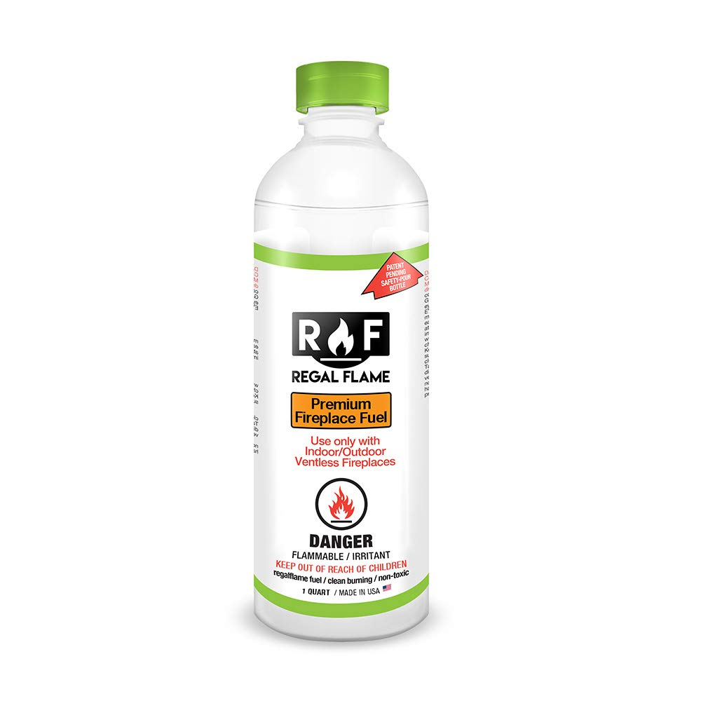 Regal Flame Ultra Ventless Bio Ethanol Fireplace Fuel - 1 Quart by Regal Flame