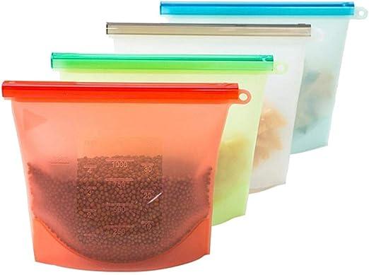 4 unids/set Reutilizable Alimentador de Silicona Sellador de ...