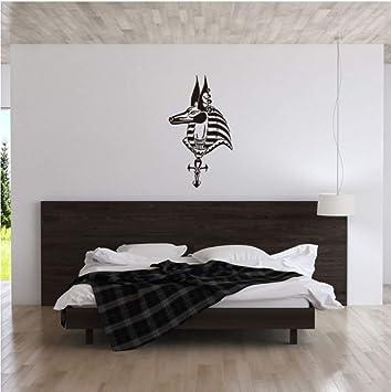 Arte rgyptian kobold anubis vinilo tatuajes de pared decoración ...