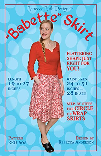 """""""Babette"""" Skirt Sewing Pattern, used for sale  Delivered anywhere in USA"""
