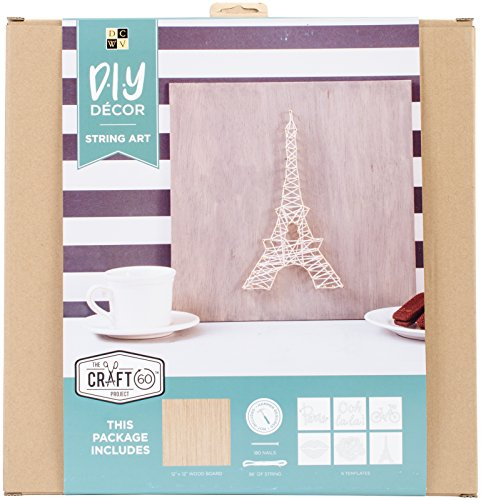 Die Cuts String Art Kit 12''X12''-Parisian by Die Cuts