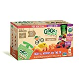 GoGo Squeez Organic Fruit & Veggiez On the Go Pouch, 3.2 ounce (Pack of 16) offers