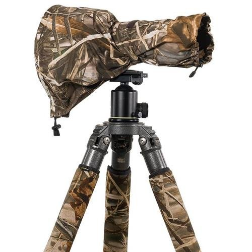 LensCoat LCRSMM4 RainCoat RS for Camera and Lens, Medium (Realtree Max4 HD)