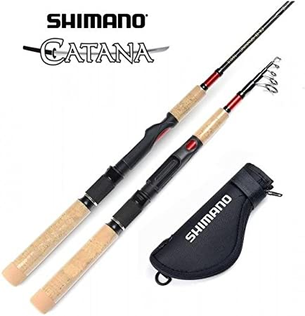 SHIMANO - Catana CX Telespin, Color 20-50 gr, Talla 2.40 m: Amazon ...