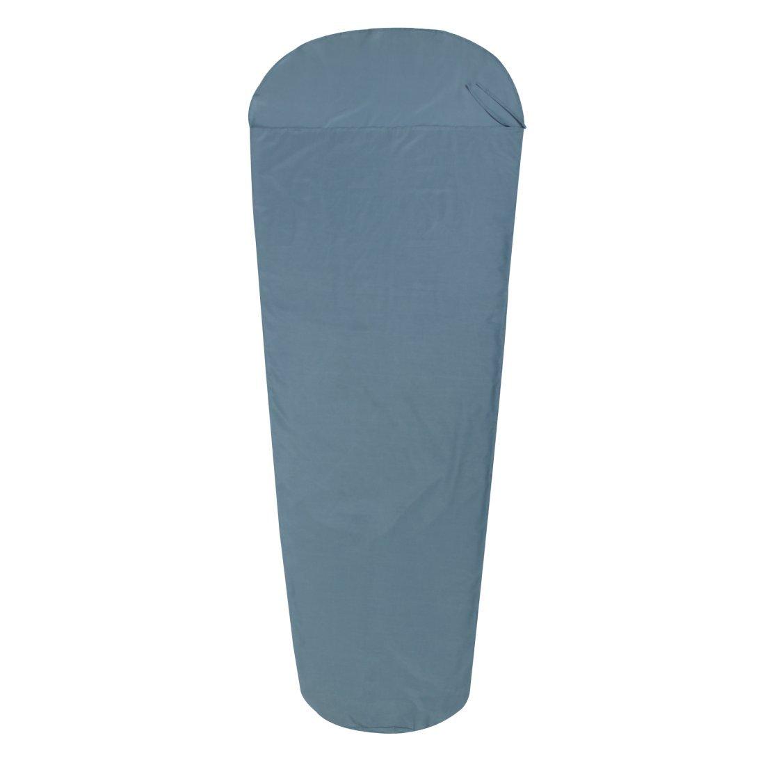 10T Outdoor Equipment Unisex Tc Inlet Mb Sleeping Bag Liner, Blue, 225 x 90 cm 765808