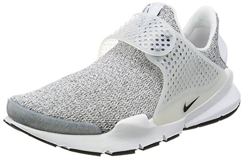premium selection 1b10f a7c84 Galleon - Nike Womens Sock Dart SE Running Trainers 862412 Sneakers Shoes  (US 8, White Black Metro Grey 100)