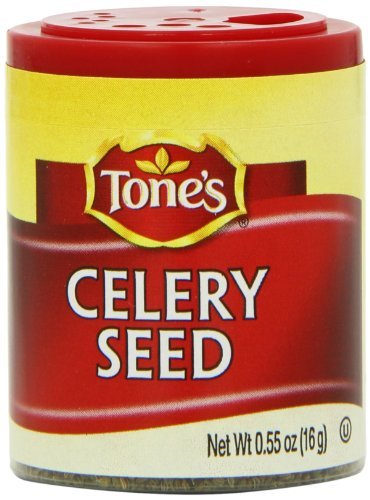 Tone's Mini's Celery Seed, 0.55 Ounce (Pack of 6) by Tone's by Tone's