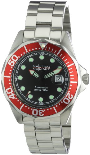 Nautec No Limit Men's Watch(Model: DSB AT/STSTRDBK)