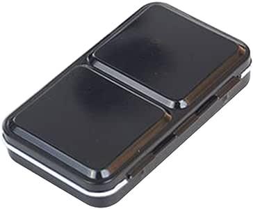 SUPVOX Watercolor Box Empty Metal Box Portable Storage Paint Case Iron Box for 12 Colors