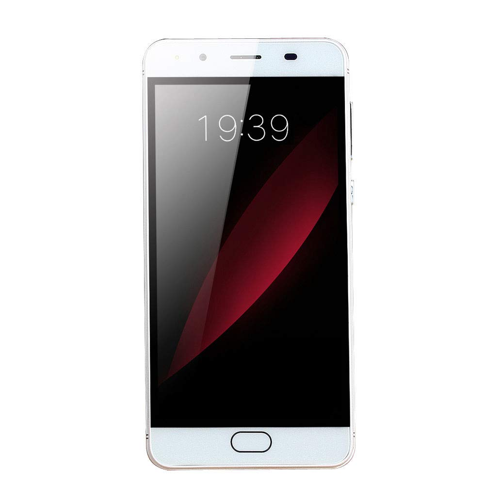 GSM WiFi Dual Smartphone,Sunsee 5.0''Ultrathin Android 5.1Quad-Core 512MB+512MB (Product Size: 14471.88.8mm, White)