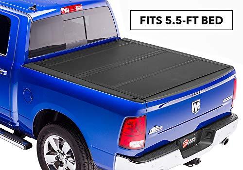 BAKFlip MX4  Hard Folding Truck Bed Tonneau Cover | 448227 | fits 2019 Dodge Ram W/O Ram Box 5 7 bed