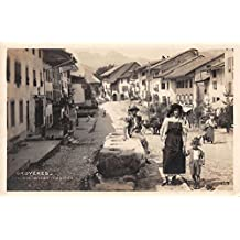 Gruyeres Switzerland Les Anciennes Mesures Real Photo Antique Postcard J26754