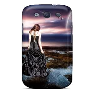 Hard Plastic Galaxy S3 Case Back Cover,hot Beware The Night Case At Perfect Diy