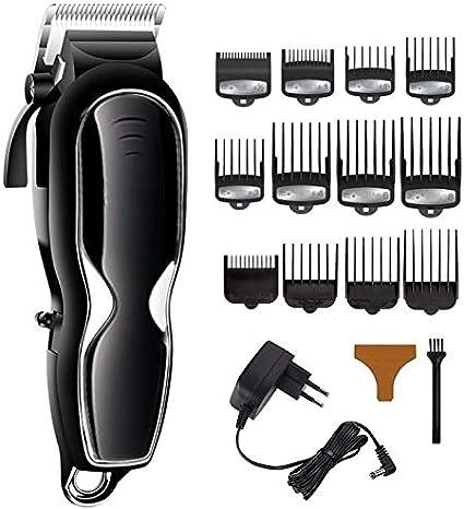Profesional Inalámbrico Profesional pelo podadoras de pelo de los hombres de corte máquina de corte de pelo eléctrico decoloración corte de pelo tienda de peluquero del kit de mezcla