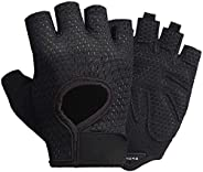 LeerKing Workout Gloves Non-Slip Exercise Gloves Thin Padding Gym Grip Weight Lifting Fitness Training Pole Da