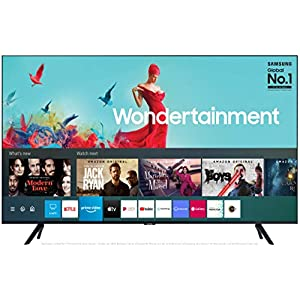 Samsung 108 cm (43 Inches) Wondertainment Series Ultra HD LED Smart TV UA43TUE60FKXXL (Black) (2020 model)