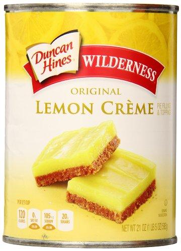 Wilderness Pie Filling & Topping, Lemon Creme, 21 Ounce (Pack of 8) - Lemon Pie Filling