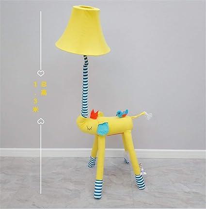 Dessin anim/é cr/éatif pour enfants LED veilleuse canard jaune prise EU prise murale veilleuse
