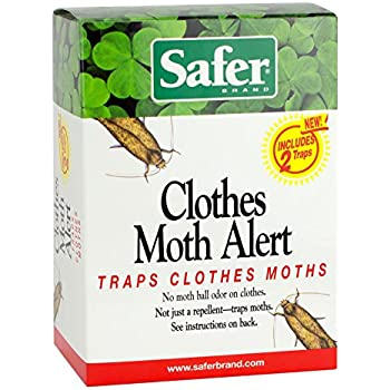 Amazon Com Safer Brand 07270 Clothes Moth Alert Trap
