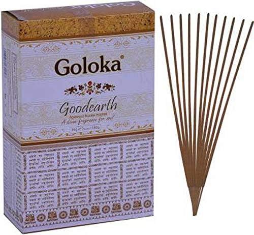 Varillas de incienso con mango de fragancia natural india Agarbatti Goloka Goodearth