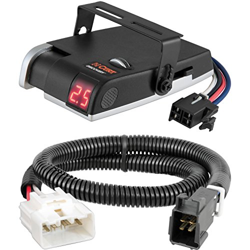 - CURT Discovery Brake Controller & Wiring Kit for Toyota Tacoma, Tundra - 51455 & 51120